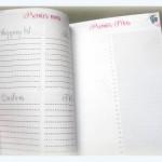 Agenda de grossesse page mois